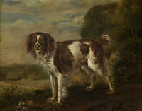 ZWPT423 modern 100% hand-painted fancy animal dog art oil painting on canvas