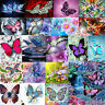 5D DIY Diamond Painting Butterfly Embroidery Home Decro Cross Crafts Stitch Kit