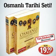 Osmanlı Tarihi Seti / 2 Kitap / Türkce kitap