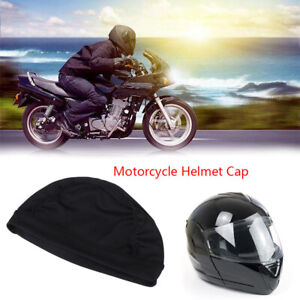 Off-road Motorcycle Helmet Inner Dome Cap Liner Sports Beanie SkullY^KN
