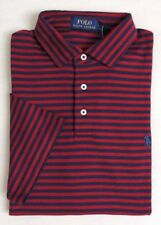 $115 NWT Polo Ralph Lauren Pony Striped Short Sleeves Soft Touch Holiday Shirt L