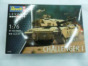 CHALLENGER I Tank 1:76 Plastic Model Kit 03308 REVELL carro armato sc. montaggio