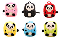 Backpack for kids: Panda 3-D cartoon backpack for 1 to 5 year old kids
