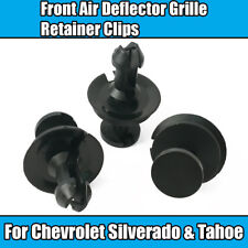 10x Front Air Deflector Grill Grille Retainer Clips A19613 GM C K Truck 15733971