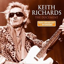KEITH RICHARDS - THE DOCUMENT/AUDIOBOOK  CD NEW+