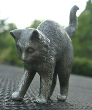 Franklin Mint Curio Cabinet Cat 1986 Surprised Cat