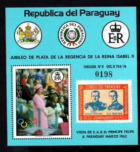 Olympic Paraguay 1977 block of stamp Mi#bl.303 MNH CV=30€