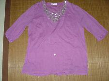 Ulla Popken 3/4 Arm Damenblusen, - tops & -shirts
