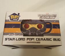 Funko Pop Star-Lord Ceramic Mug Guardians Of The Galaxy Marvel Collector Corps