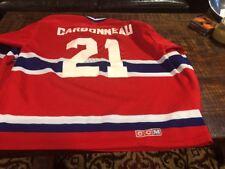 Guy Carbonneau Jersey Montreal Canadians 21 Captain CCM