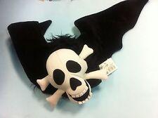 - cappello teschio pirata con ali 70x30 happy Halloween horror carnevale