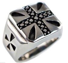 Cross Templar Knights Men's Ring 316L stainless steel size 8