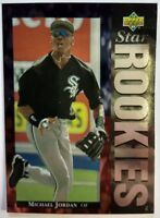 1994 94 UPPER DECK STAR ROOKIES Michael Jordan #19, Foil RC Rookie, Baseball