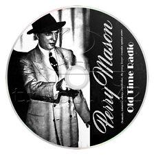 Perry Mason (OTR) 260 Episodes (256 actual) Old Time Radio Detective Collection