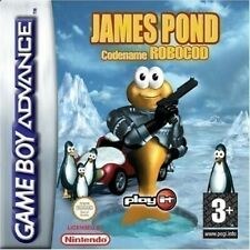 Nintendo GameBoy Advance Spiel - James Pond: Codename Robocod Modul mit Anl.