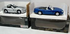1/32 Jaguar XK8 + Dodge Viper - New Ray City Cruiser Collection - Boxed (2462)