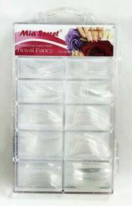 Mia Secret Nail Tips ROYAL FANCY - Clear 100pc