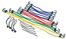 24-Piece Bulk Bungee Cord Elastic Anchor Rope Assortment with Hooks & Balls Set