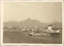 Sicile, Vue du port de Palerme, ca.1925, vintage silver print vintage silver pri