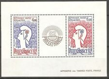 """France - 1982 """" PhilexFrance 82 """" Stamp Exhibition M/s2539 MNH ( Cat. £20.00p )"""