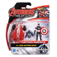 Marvel Avengers Age Of Ultron - Captain America vs Sub-Ultron 002 Figure Pack