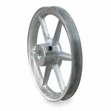 Congress Ca1000x062kw 58 Fixed Bore 1 Groove Standard V Belt Pulley 1000 Od