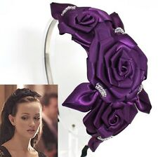 GOSSIP GIRL FLOWER BLAIR HEADBAND HAIR FASCINATOR Accessories Bridesmaid HB887