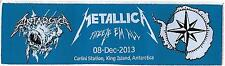 METALLICA - Antartica Limited edition patch -WOVEN SEW ON PATCH - free shipping