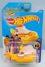 2728 HOT WHEELS CARTE US / SCREEN TIME 2015 / THE BEATLES YELLOW SUBMARINE 1/64
