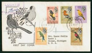 Mayfairstamps Bechuanaland Protectorate FDC Birds Combo Lobatsi First Day Cover