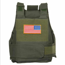 New Syle Tactical Airsoft Paintball Body Armor Vest OD Green - US027
