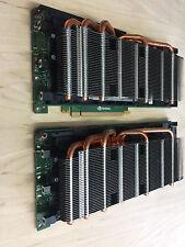 Lot of (2) Nvidia Tesla M2050 3GB GDDR5 Graphics Unit GPU Hp SH885B 633246-001