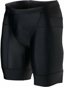 "TYR Competitor 8"" Men's Tri Short: Black MD"