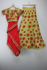 Anjaani Brand Indian Wedding Lehenga Choli Size (S) Brand New