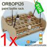 1x ORBOPI26 Modular Stackable Paint Rack Organizer for 38 Vallejo Andrea Bottles