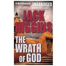 THE WRATH OF GOD unabridged audio book on CD by JACK HIGGINS