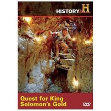 QUEST FOR KING SOLOMON'S GOLD Ancient Israel Treasure Lost Mines Treasures DVD