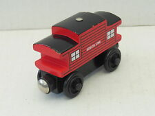 "THOMAS & FRIENDS WOODEN RAILWAY ""SODOR LINE CABOOSE"" EC RARE"