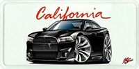 2012-13 Dodge Charger SRT8 Muscle Car License Plate NEW