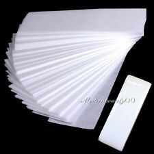 100 Sheets Hair Removal Depilatory Nonwoven Epilator Wax Waxing Strip Paper