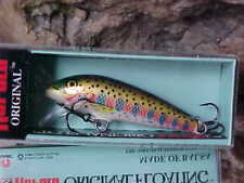 """Rapala 2"""" Orginal Floating F05 RT in Rainbow Trout - Bass/Walleye/Trout/Crappie"""