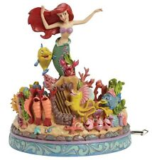 Disney Traditions Under The Sea Little Mermaid Musical Figurine 20.5cm 4039073