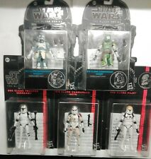 STAR WARS THE BLACK SERIES - 5 action figure - COLLECTION CLONE - 3,75 INCH