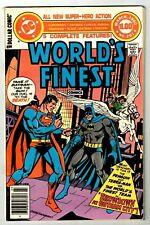 WORLD'S FINEST #261 (FN) Superman! Batman! Black Lightning! Green Arrow! 1980 DC