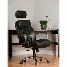 Comfort Commodore II Big And Tall Leather Executive Office Chair 350 lbs