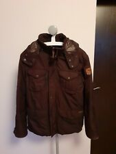 MEN'S RALPH LAUREN FEATHER DOWN WARM WINTER JACKET COAT. SIZE LARGE L BROWN