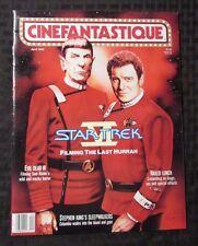 1992 CINEFANTASTIQUE Magazine #88 April STAR TREK VI Evil Dead 3 NM