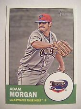 ADAM MORGAN PHILLIES RC 2012 Heritage Minor baseball card QTY #128 ALABAMA TIDE