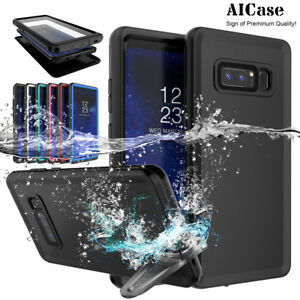 For Samsung Galaxy S9 Note8 S8+ Waterproof Case Shockproof Underwater Full Cover