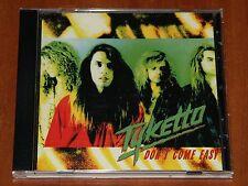 TYKETTO DON'T COME EASY CD *RARE* DGC GEFFEN RECORDS 1991 REPRESS New